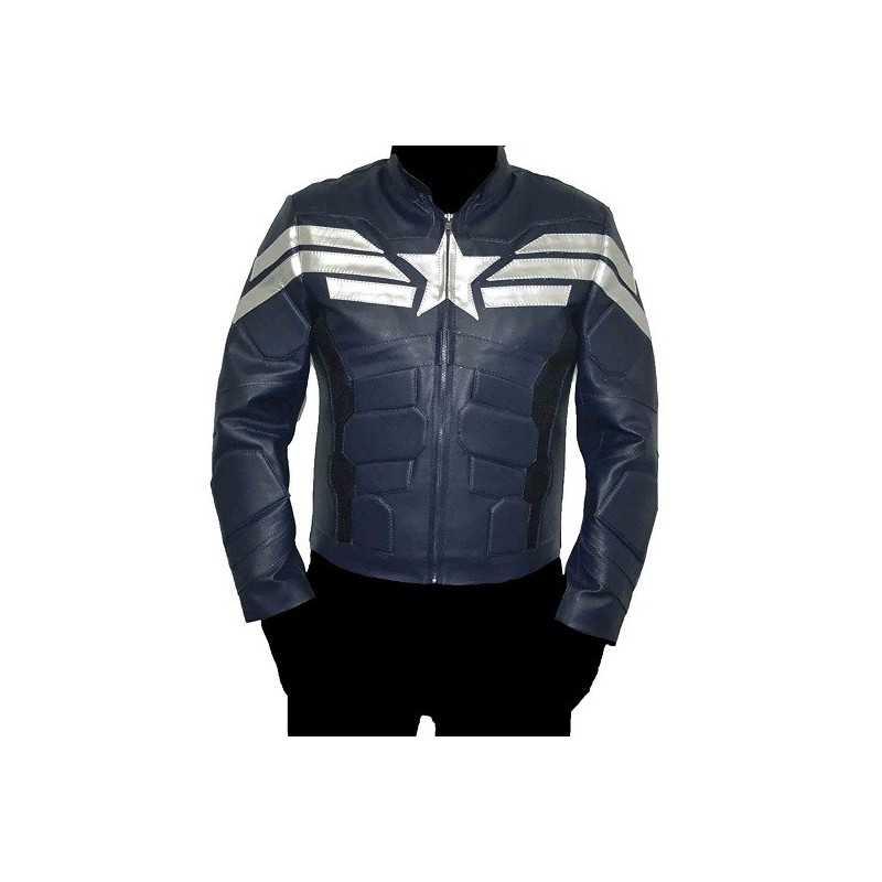 Veste Captain America Soldat de l'hiver