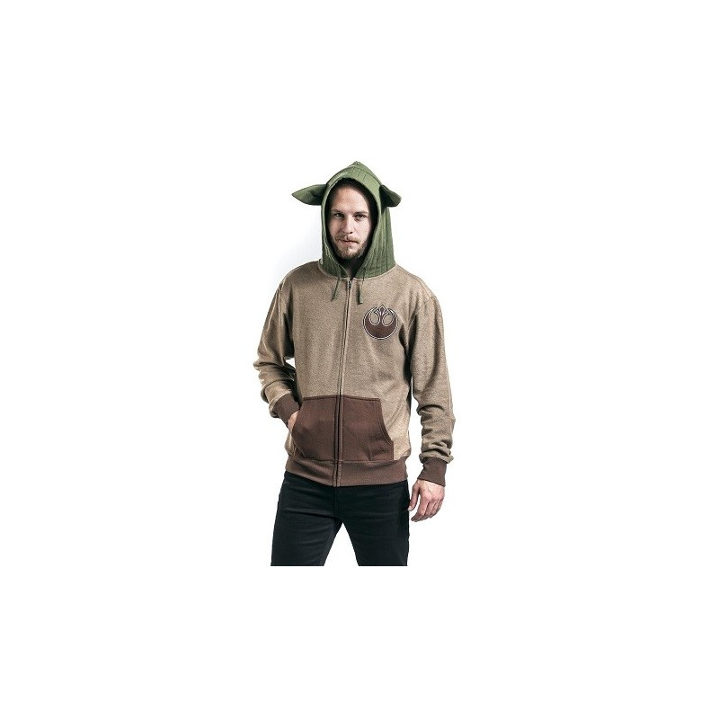 Sweat capuche Yoda