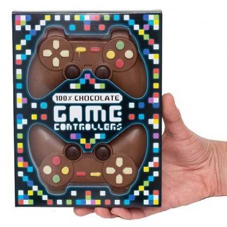 Double manette jeu en chocolat