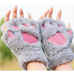 Paire de gants coussinets pattes de chats
