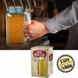 Maxi chope de bière 2 litres