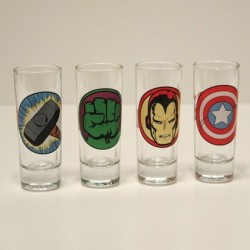 Set 4 shooters Avengers