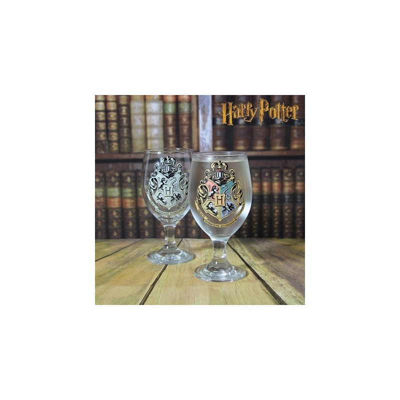 Verre thermoréactif Harry Potter Hogwarts