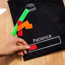 T-shirt patience