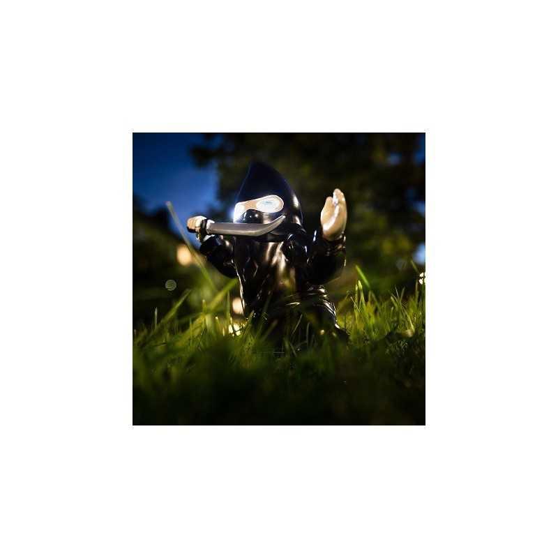 Nain de jardin Ninja lumineux - VenduGeek