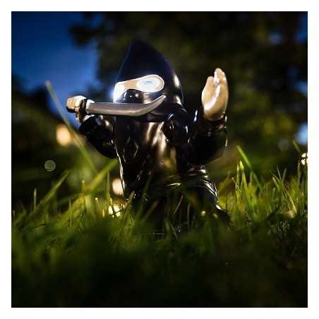 Nain de jardin Ninja lumineux