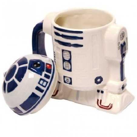 Mug R2D2 Star Wars couvercle