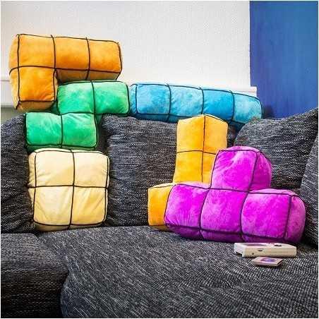 Coussins bloc Tetris