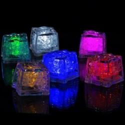 Glaçons à LED lumineux