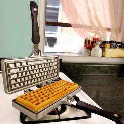 Gaufrier clavier d'ordinateur