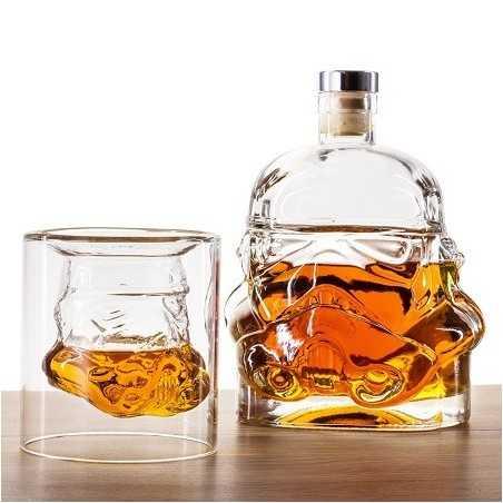 Set 2 Verres et 1 carafe à whisky Stormtrooper