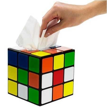 Boite à mouchoirs Rubik's Cube