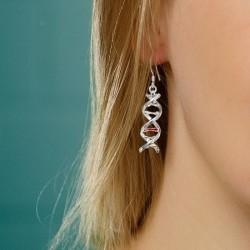 Boucles d'oreilles ADN
