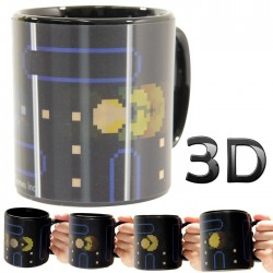 Mug Pac-man 3D motion