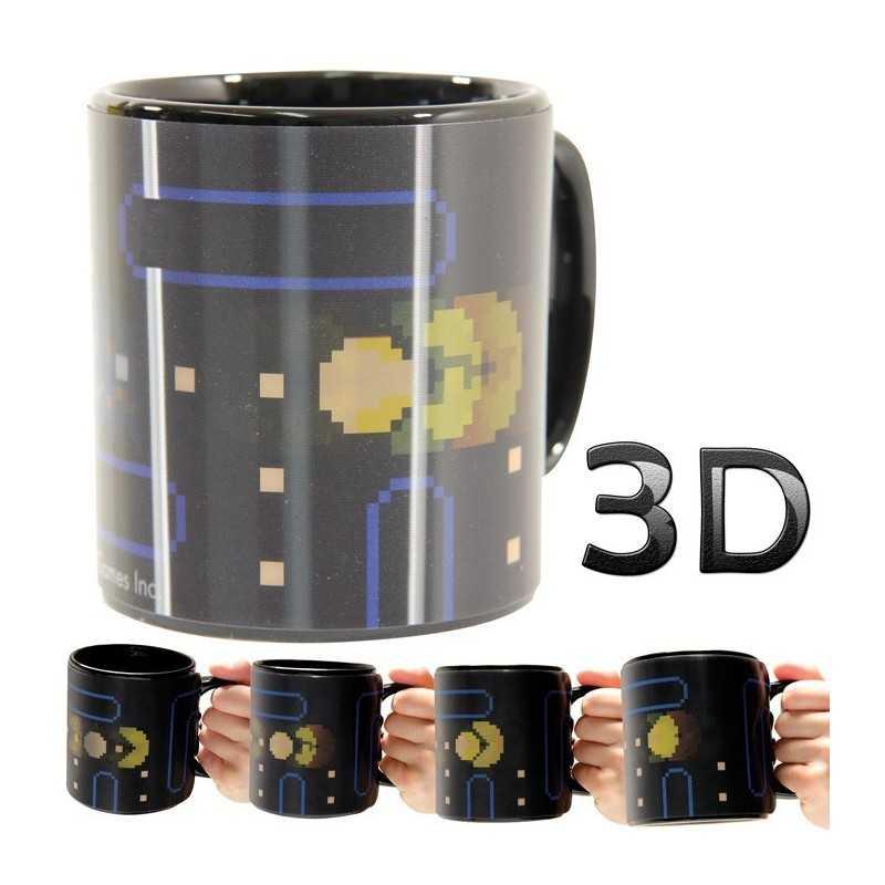 Mug Pac-man 3D motion