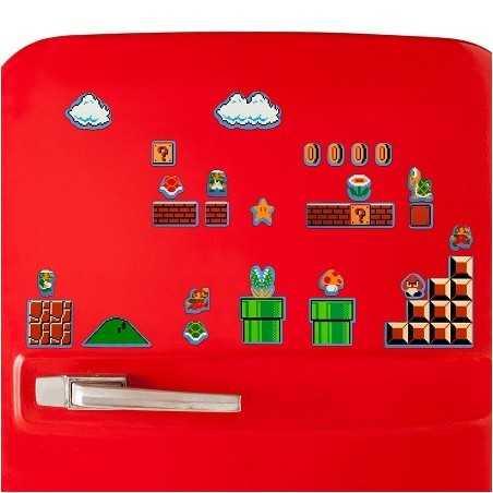 Magnets Frigo Super Mario retro