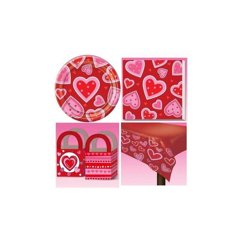Lot de décoration table Saint-Valentin