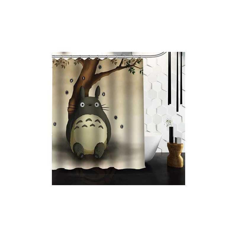 Rideau de douche Totoro