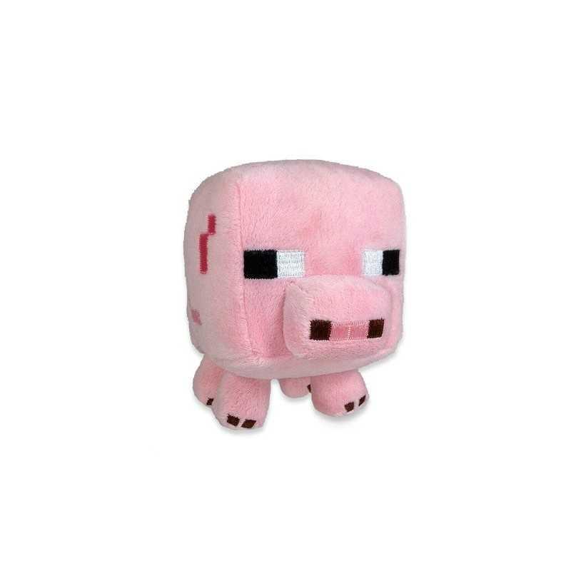Peluche bébé cochon Minecraft