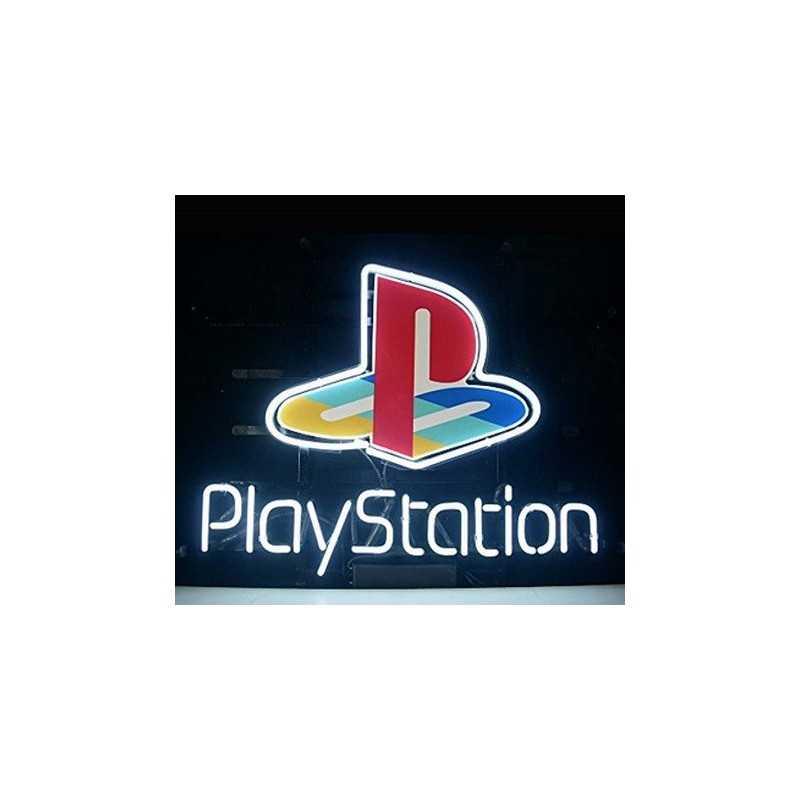 Lampe neon logo Playstation 1994