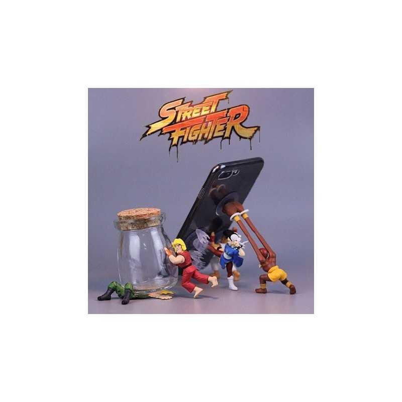 Set 5 Figurines smartphone Street Fighter