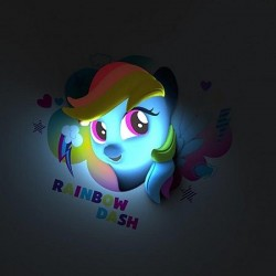 Lampe My little Pony 3D Lights