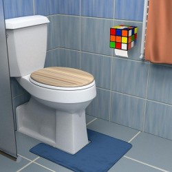Rubik's Cube distributeur de papier de toilette