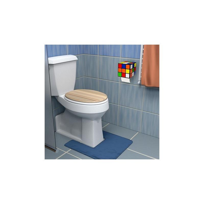 rubik 39 s cube distributeur de papier de toilette vendugeek. Black Bedroom Furniture Sets. Home Design Ideas