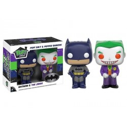Set salière et poivrière Pop Batman et Joker