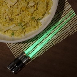 Baguettes chinoises Lumineuses Star Wars