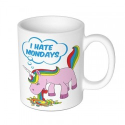 Mug Licorne I hate Monday