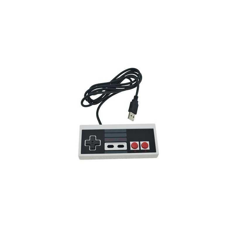 Manette USB forme NES pour PC/MAC (sans emballage)