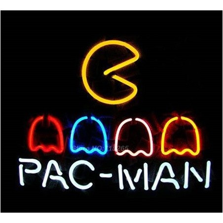 Lampe neon Pacman