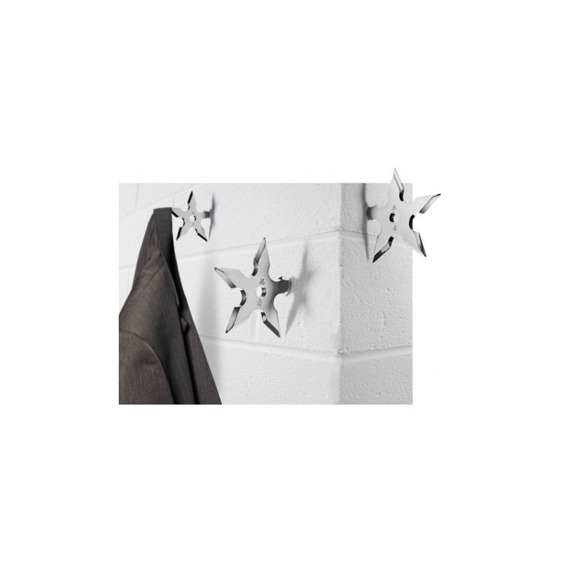 Porte manteaux étoile de ninja