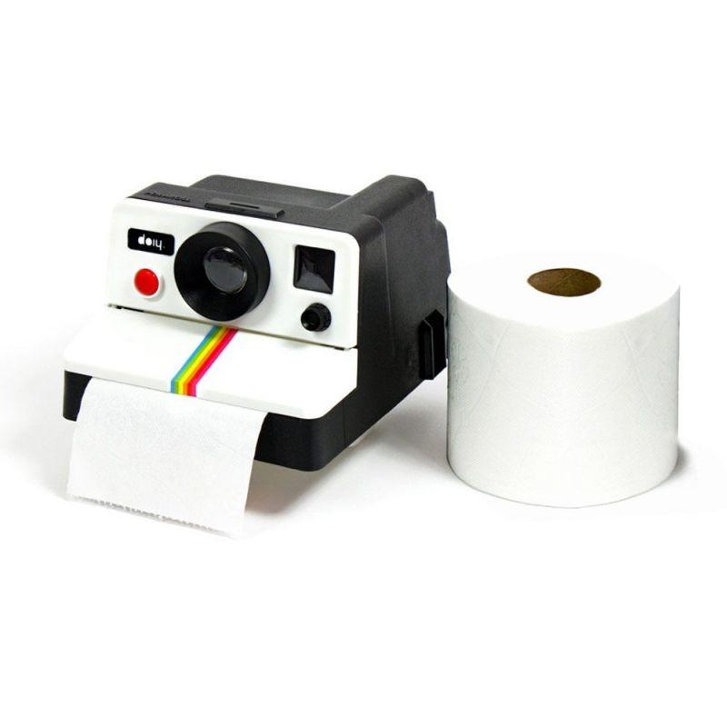 polaroid distributeur de papier toilette vendugeek. Black Bedroom Furniture Sets. Home Design Ideas