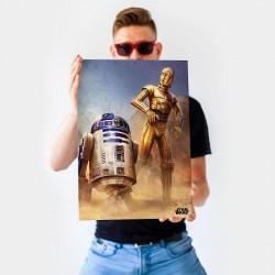 Poster Métal Star Wars épisode IV
