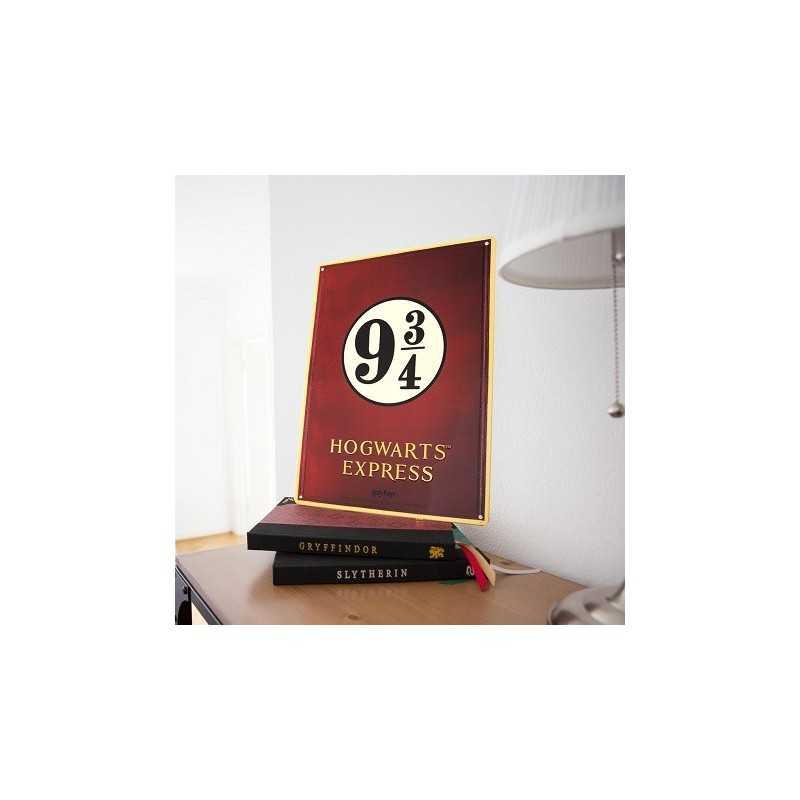 Poster Métal Harry Potter Hogwarts Express
