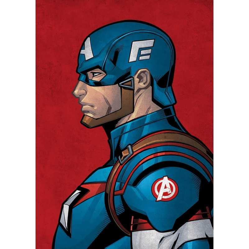 Poster Métal Avengers