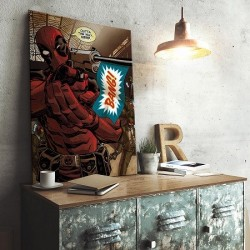 Poster Métal Deadpool
