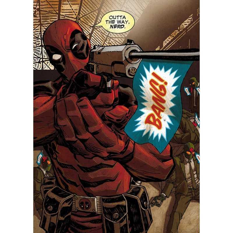 Poster Métal Deadpool