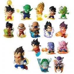 Lot 16 mini figurine gashapon Dragon Ball Z