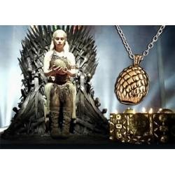 Collier œuf de dragon Game Of Thrones