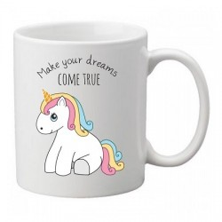 Mug Licorne que tes rêves deviennent réalité