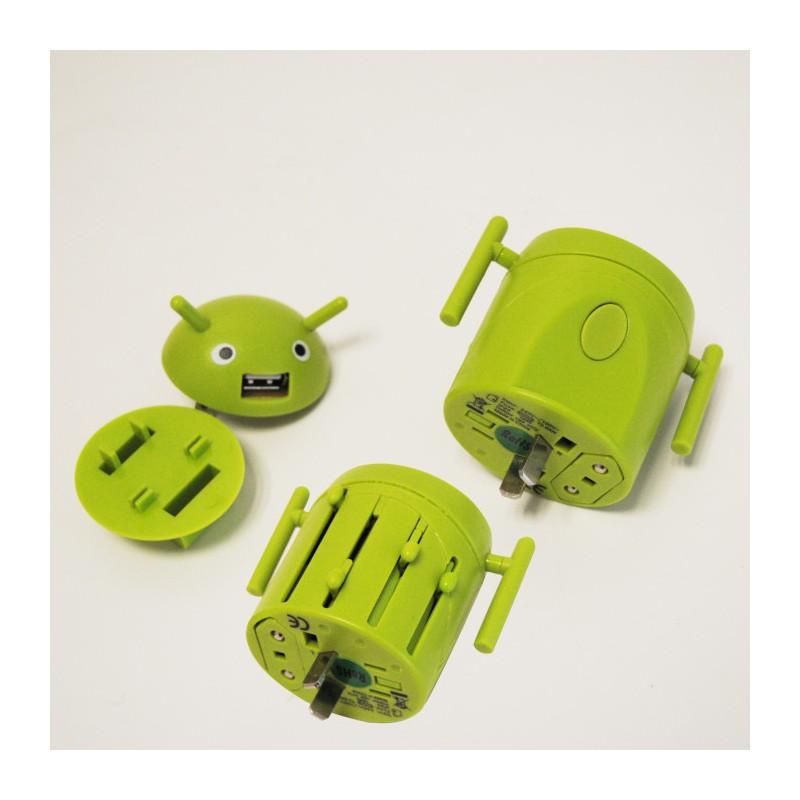adaptateur universel de voyage android vendugeek. Black Bedroom Furniture Sets. Home Design Ideas