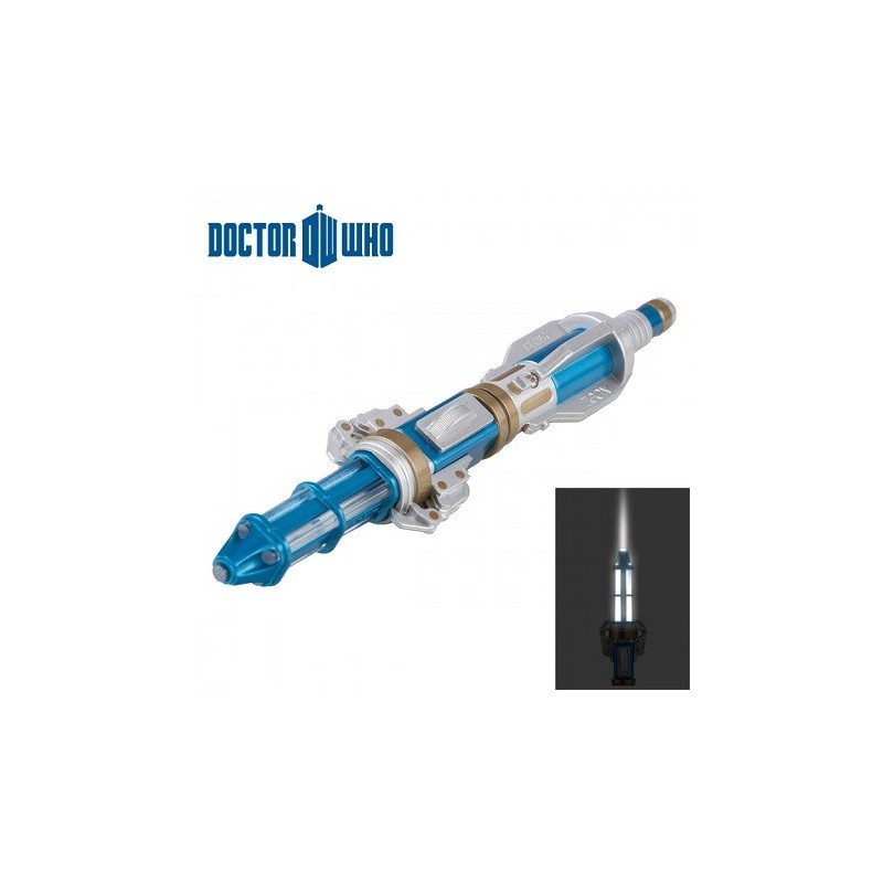Lampe torche tournevis sonique 12eme Dr Who
