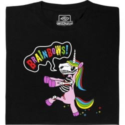T-shirt Licorne Zombie