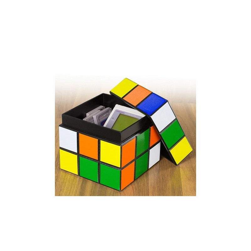 Boite de rangement Rubik's Cube