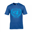 T-shirt Terre plate Fly Earth Society