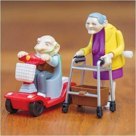 Racing Grand-père et grand-mère