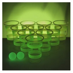 Jeu du Beer Pong Phosphorescent